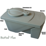 BioPod Plus Auto-Harvesting Black Soldier Fly Grub Composter