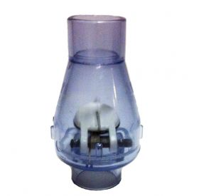 Swing Check Valve, Clear - 1 1/2 inch