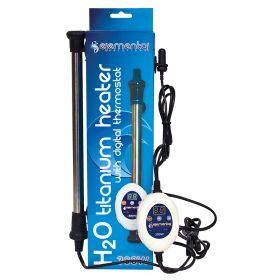 Elemental H2O Titanium Heater w/ Digital Thermostat, 300W