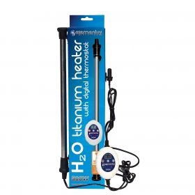Elemental H2O Titanium Heater w/ Digital Thermostat, 500W