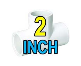 2 inch pvc fittings and valves