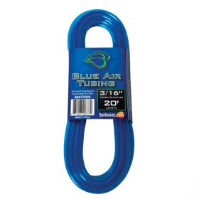 "Elemental O2 Blue Air Tubing 3/16"", 20'"